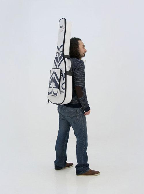 eco electric guitar bag made by www.crearebags.com
