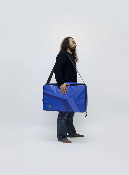 eco pedalboard bag made by www.crearebags.com
